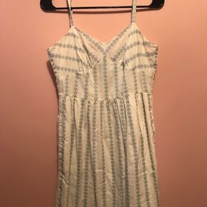J. Crew Diamond Stitch Sundress